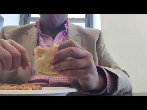 ASMR | Lunch | Starbucks | Pesto Sandwich | Cheese-It | Oat Bar | Whisper + Soft Spoken