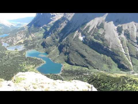 Glacier National Park: The View Down Swiftcurrent Valley