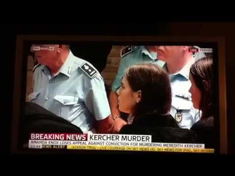 Sky News Get Amanda Knox Verdict Wrong!