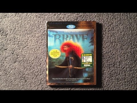 Unboxing Brave Blu-Ray 3D/Blu-Ray/DVD/Digital Copy