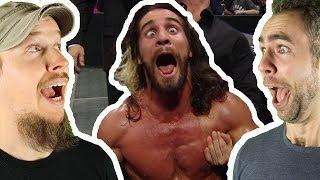 LET'S GO SETH ROLLINS! WWE Raw v Smackdown Feb. 19 & 20, 2018 | WrestleRamble
