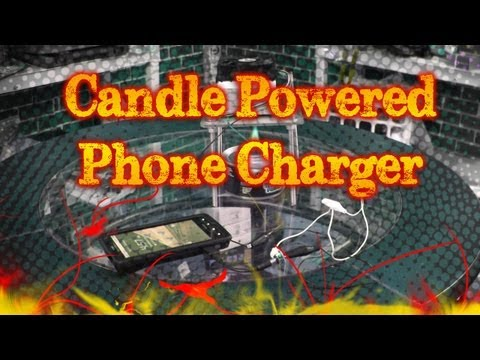 Tinkernut - Weekend Hacker: Candle Powered Phone Charger