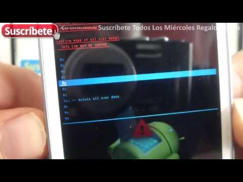 Samsung Galaxy Ace 4 Lite Duos como hacer un hard reset SM-G313ML/DS español