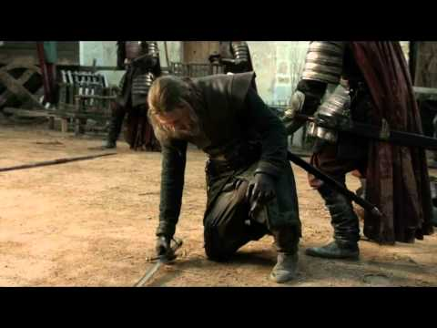 Jaime Lannister Vs Eddard Stark Lightsaber Battle