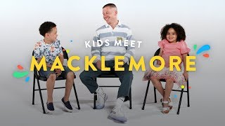 Kids Meet Macklemore | Kids Meet | HiHo Kids