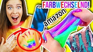 MAGISCHE FARBE WECHSELNDE AMAZON PRODUKTE im live Test! 😳 Color changing products | KIM LIANNE