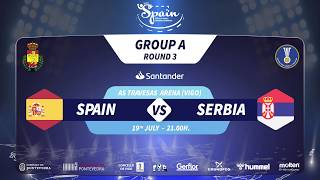 IHF Men's Junior World Championship 2019 Group A ESP SRB