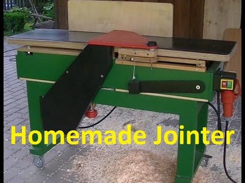 My Homemade Jointer