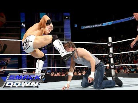 Dean Ambrose Vs. The Miz: Smackdown, February 26, 2015 video