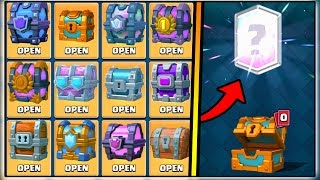 ALL CHEST OPENING IN CLASH ROYALE   OPENING EVERY CHEST   CLASH ROYALE CHEST OPENING!