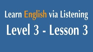 Learn English via Listening Level 3 - Lesson 3 - Corruption