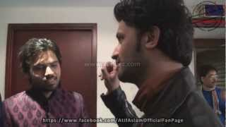 Behind The Scenes (SurKshetra) - Atif Aslam Love, Dedication & First Elimination of Contestant - HD