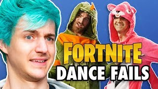 Ninja Judges Fortnite Dance Challenge