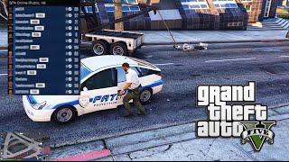 GTA 5 PC Hacks Online Trolling - Parking Enforcement Pruis