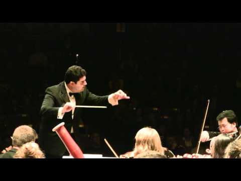 Dvorak - New World Symphony - 2nd Movement - Tito Muñoz/NEC Philharmonia