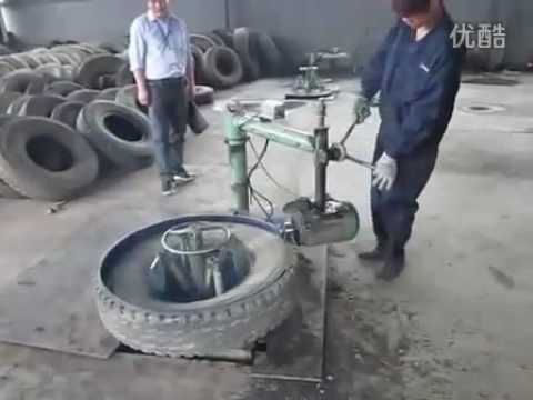 Переработки шин в крошку своими руками 14
