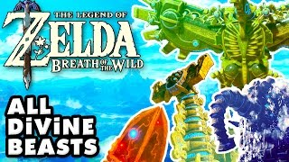 The Legend of Zelda: Breath of The Wild - All Divine Beasts! (Nintendo Switch)