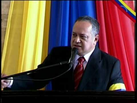 Sepelio del Comandante Chávez parte 3: Discurso de Diosdado Cabello