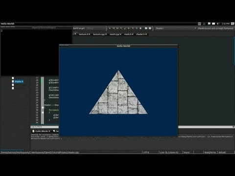 #4 Intro To Modern OpenGL Tutorial: Textures