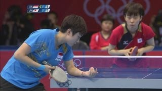 Feng Tianwei Wins Table Tennis Bronze - London 2012 Olympics