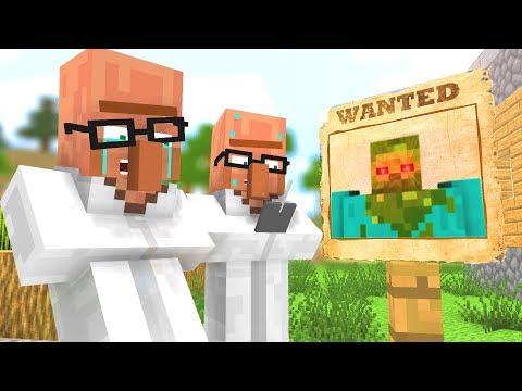 Zombie vs Villager Life 4 - Craftronix Minecraft Animation