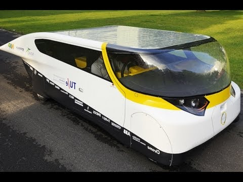 World's First Ever Solar Powered Car