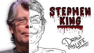 STEPHEN KING | Draw My Life 🎃 Especial Halloween TikTak Draw
