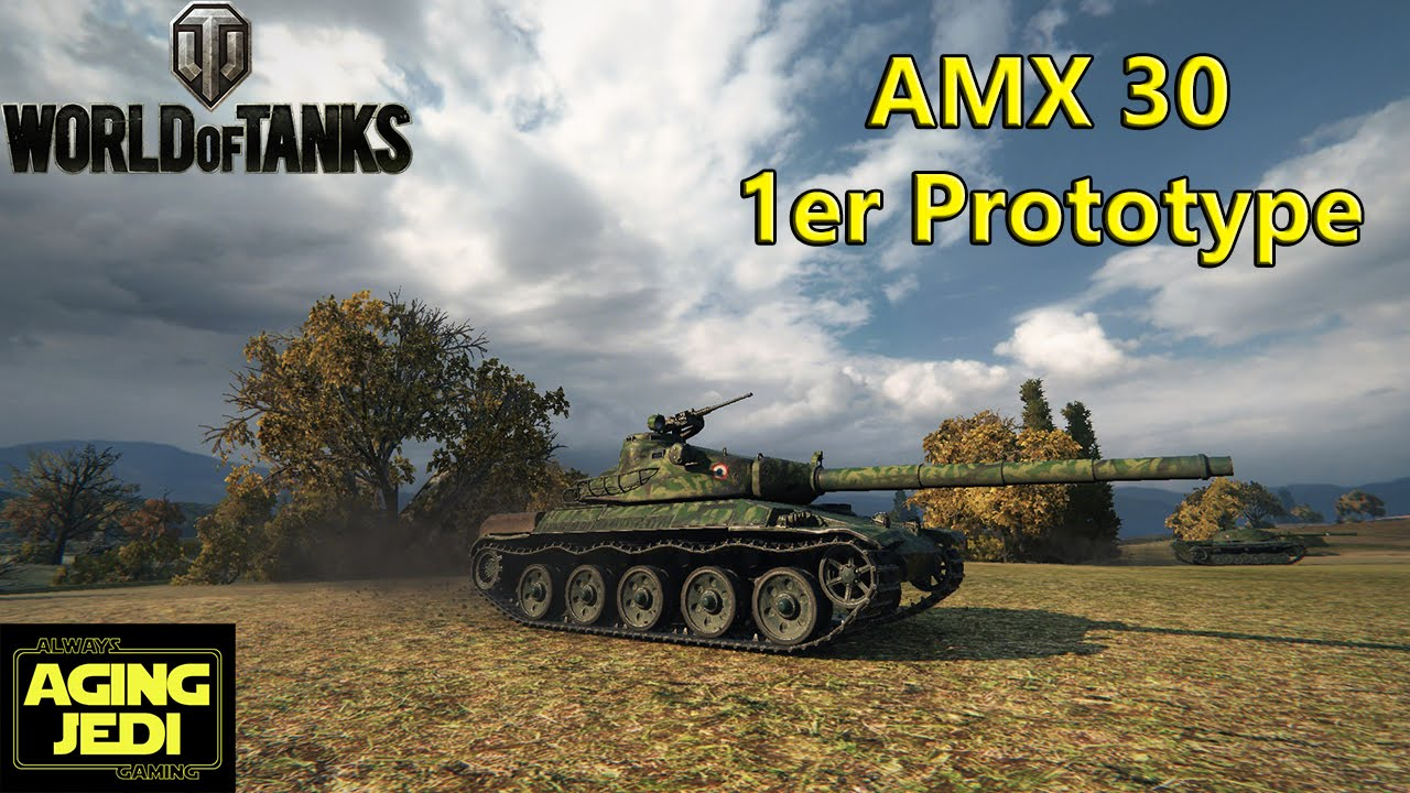 AMX 30 1er prototype Statistics and Data  vBAddictnet