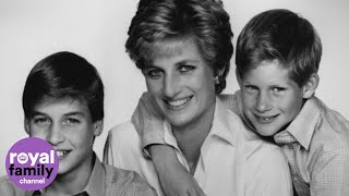 William and Harry share touching memories of Princess Diana