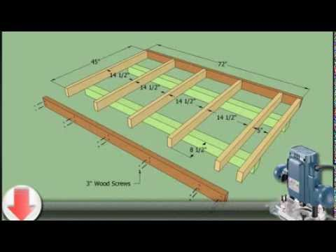 How To Plan For Building A 10x12 Shed - YouTube