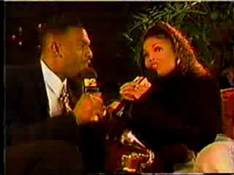 Janet Jackson Hangin' With Bill Bellamy 1994