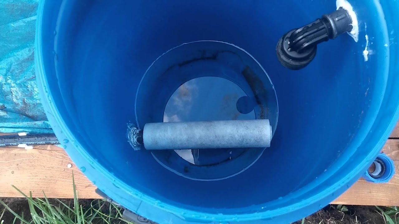Плавающий фильтр для бассейна своими руками 73