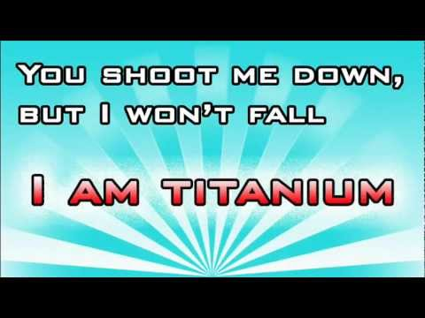 Titanium David Guetta ft. Sia Lyrics