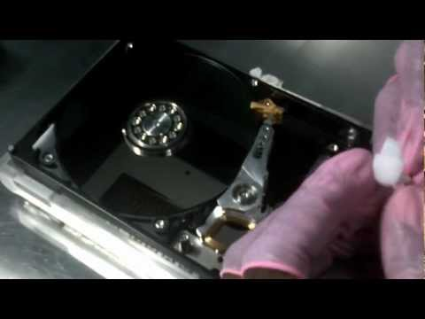 Apple iMac Physical Data Recovery | WD3200AAJS Data Recovery  Apple Head Swap