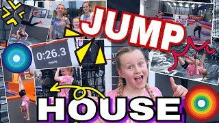 JUMP HOUSE FOLLOW ME AROUND💥Trampolinhalle coole Mädchen