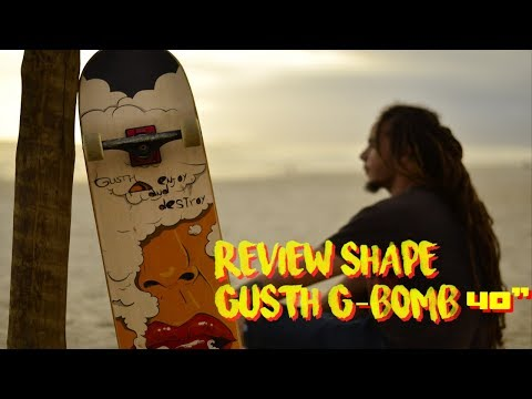 Análise / Review Shape Gusth G-Bomb  40