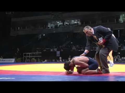 ЧЕ 2012 Отарсултанов(Россия)- Гочашвили(Грузия) 55 кг