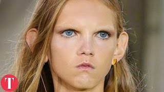 10 unusual models in the fashion industry