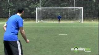 Soccer - Finishing a Break Away