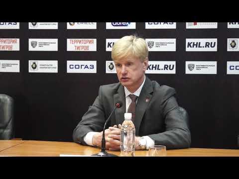05.10.2018 / Amur - Avtomobilist / Press Conference