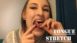 7mm (1 gauge) Tongue Stretch   TheTarative