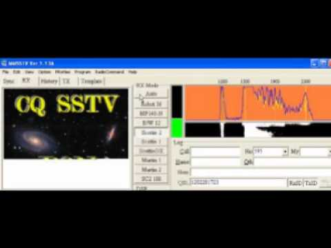 LIVE SSTV Band 20 metre
