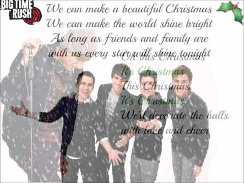 Big Time Rush - Beautiful Christmas