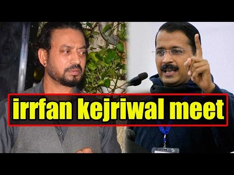 Here's What Irrfan Khan Asked Delhi Chief Minister Arvind Kejriwal During Their Meet