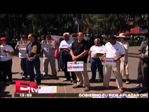 Piden en Coyoacán cancelación del proyecto de parquímetros/ Comunidad