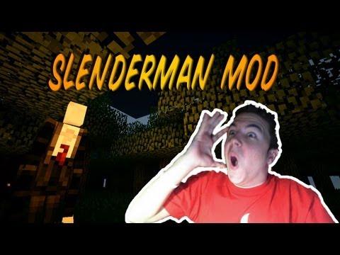 SLENDERMAN - MINECRAFT MOD