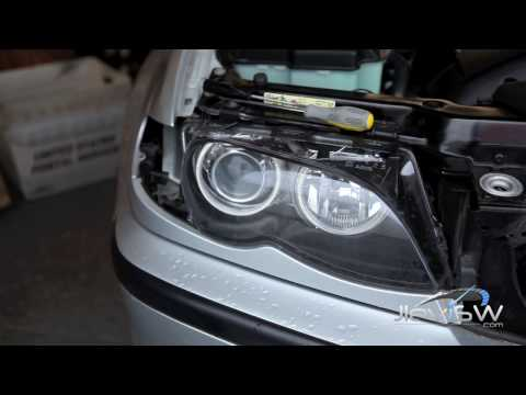 Bmw E46 Headlight Disassembly Youtube