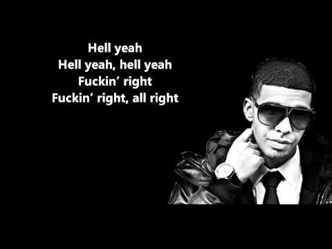 Hyfr (hell Yeah Fu*king Right) - Drake Feat. Lil Wayne    Lyrics On Screen [hd] video