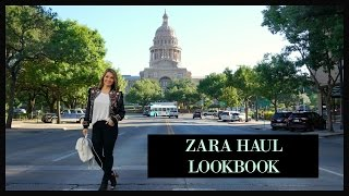 Zara Haul Lookbook 2017
