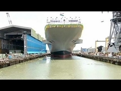 India unveils first home-built aircraft carrier 'Vikrant'